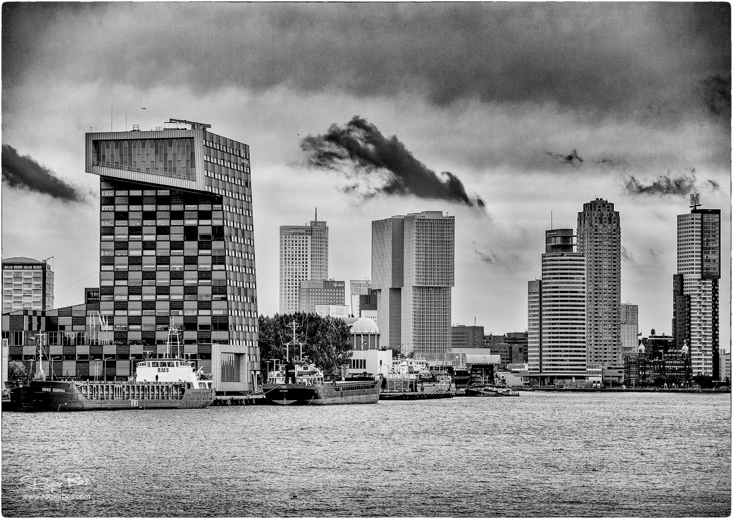 Rotterdam from the water-10