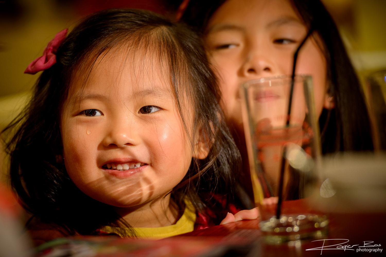 De fotograaf ziet alle details van uw evenement - zelfs de traan van dit mooie kleine meisje!