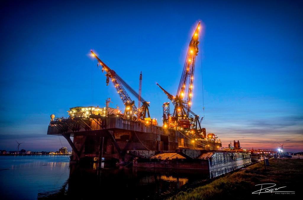 Haven Rotterdam landtond Rozenburg-2